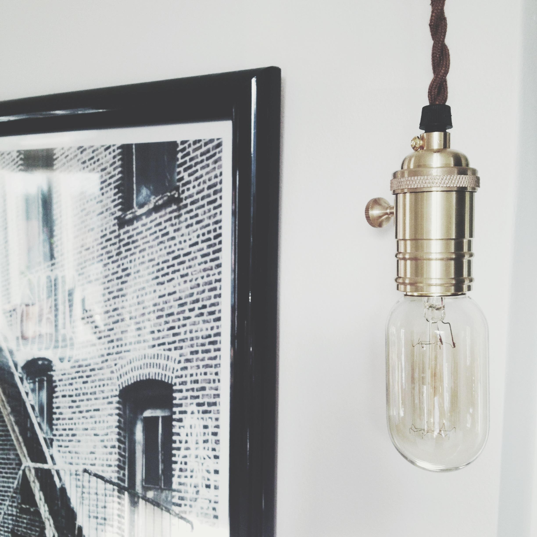 Mässingpendel webshop lampsockel