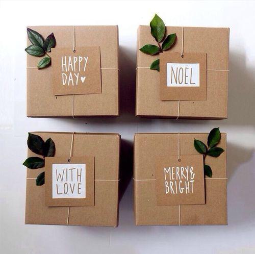 julklapp inslagning box