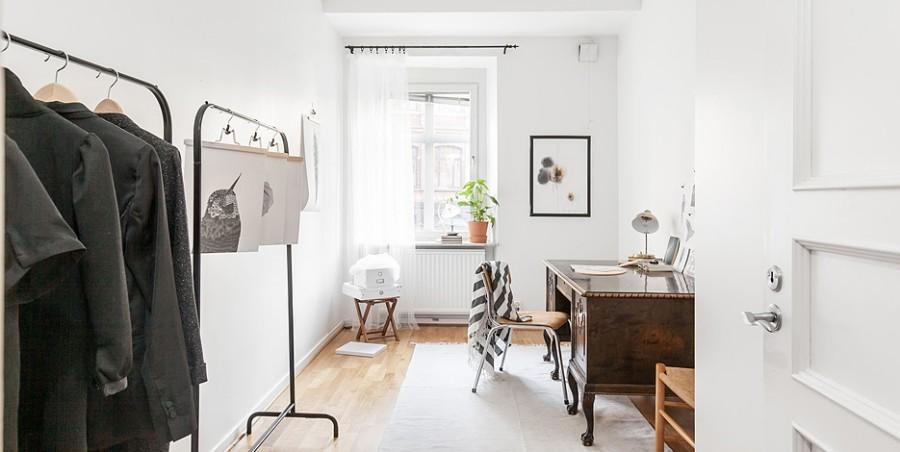 hemmakontor, studio, ateljé, homestyling