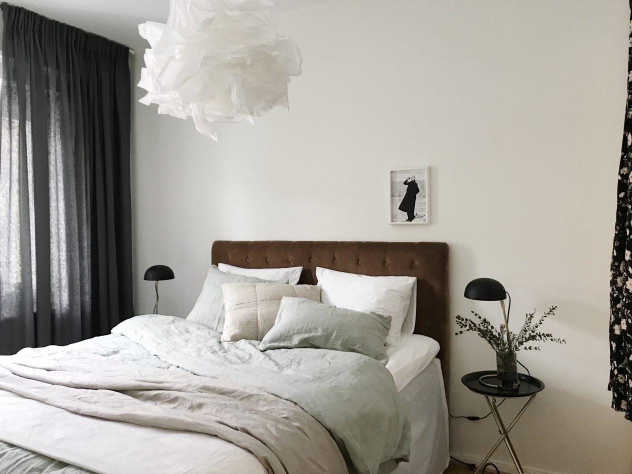 Inredningstips - bäddning sovrum