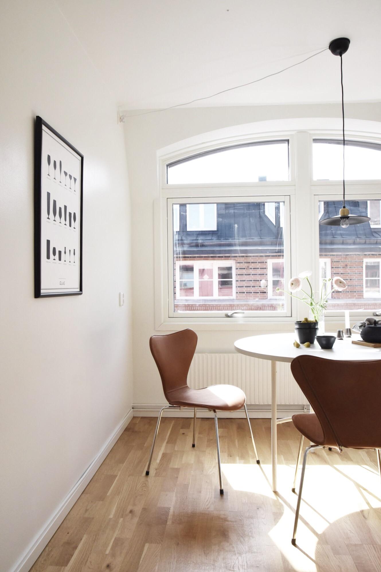 Homestyling, Styling, Linné, Göteborg, Risåsgatan, Studio In, Sjuan, 7an stol, Arne Jacobsen
