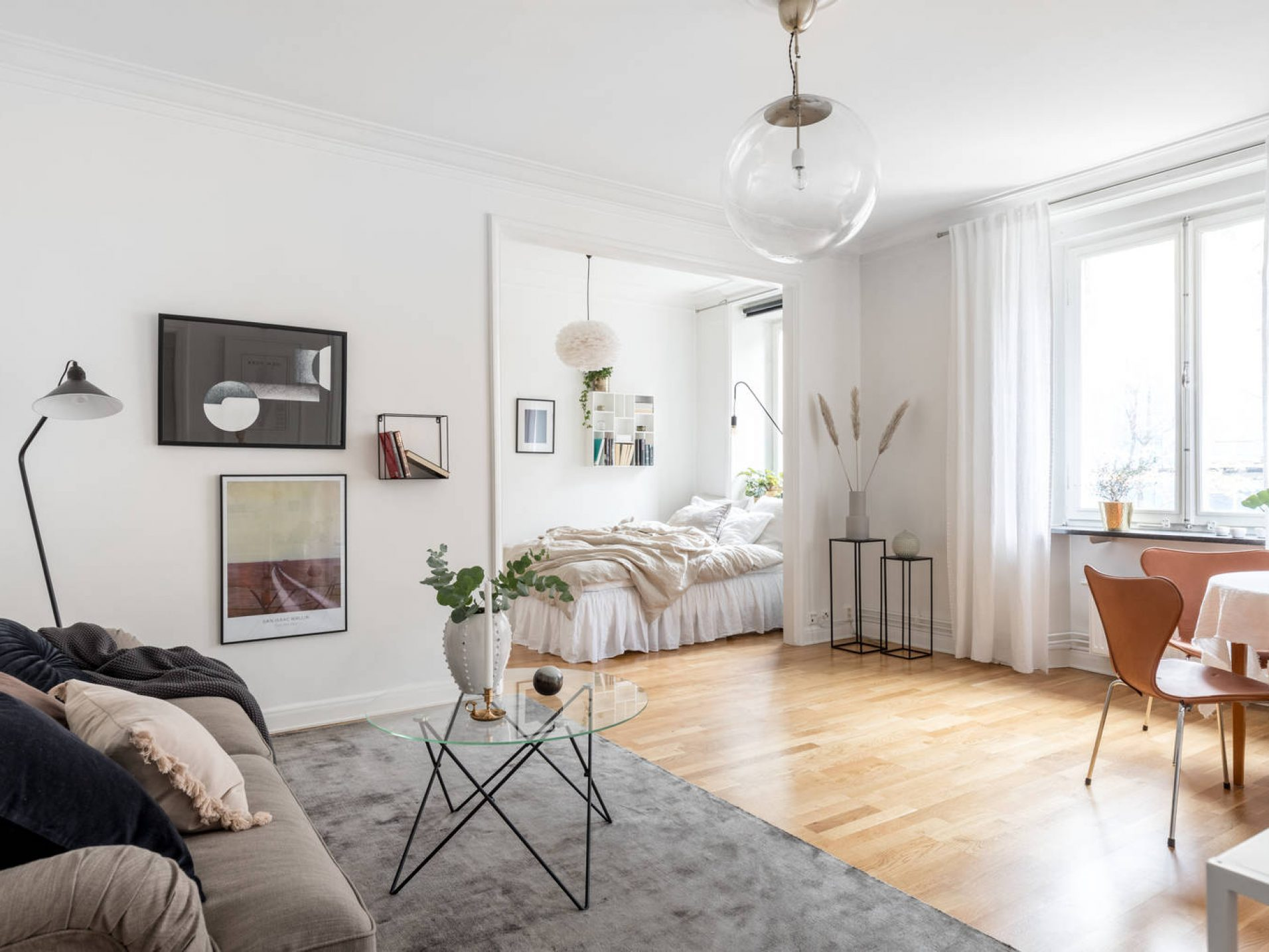 Lundgrensgatan 12, studio in, reveny, homestyling