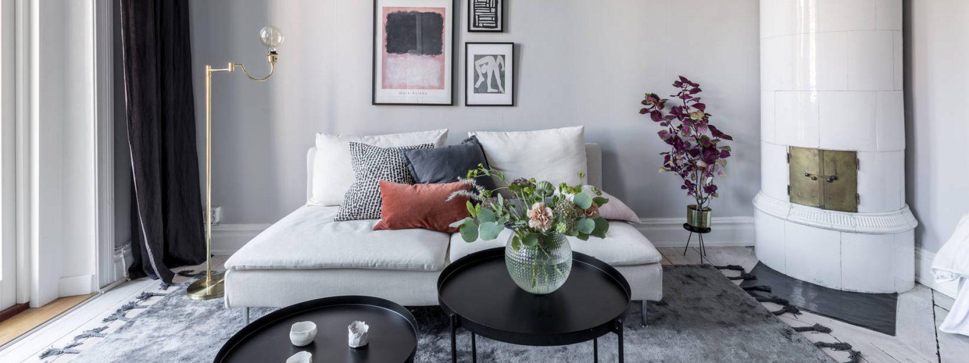 homestyling soffa kakelugn